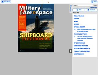 digital.militaryaerospace.com screenshot