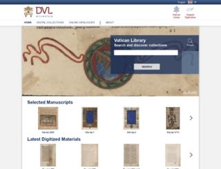 digital.vatlib.it screenshot
