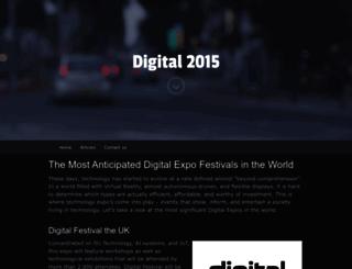 digital2015.co.uk screenshot