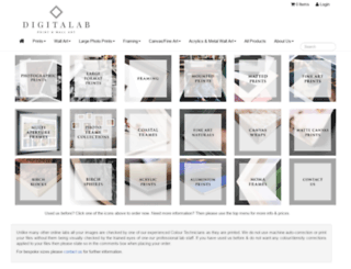 digitalab.photokio.sk screenshot