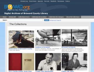 digitalarchives.broward.org screenshot