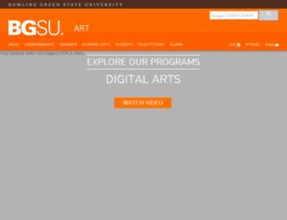 digitalarts.bgsu.edu screenshot