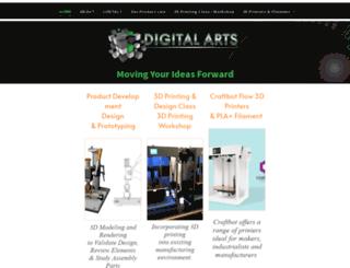 digitalarts.ws screenshot