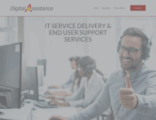 digitalassistance.be screenshot