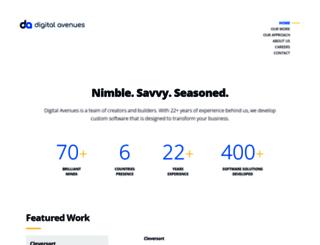 digitalavenues.com screenshot