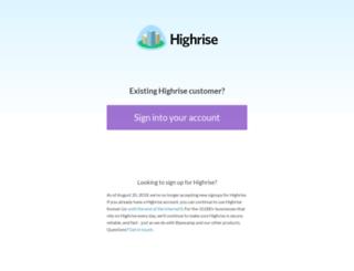 digitalbeaconinc.highrisehq.com screenshot