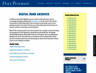 digitalbond.com screenshot