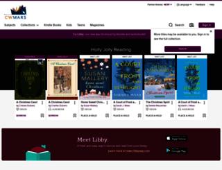 digitalbooks.cwmars.org screenshot