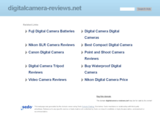 digitalcamera-reviews.net screenshot