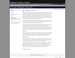 digitalcameracables.net screenshot