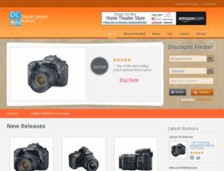 digitalcamerarumors.com screenshot