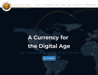 digitalcoin.co screenshot