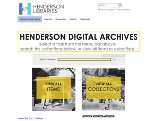 digitalcollections.mypubliclibrary.com screenshot
