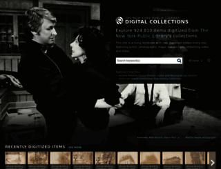 digitalcollections.nypl.org screenshot