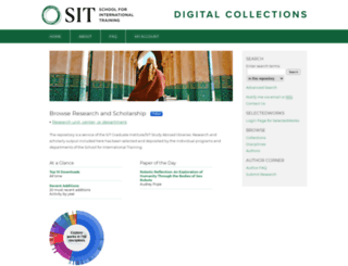 digitalcollections.sit.edu screenshot