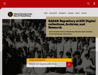 digitalcommons.auctr.edu screenshot