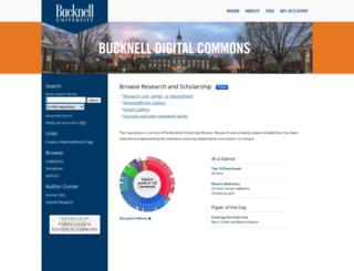 digitalcommons.bucknell.edu screenshot