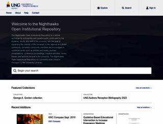 digitalcommons.northgeorgia.edu screenshot