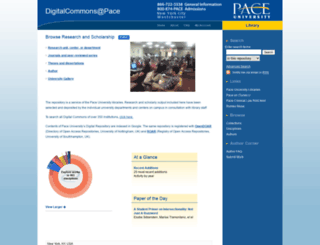 digitalcommons.pace.edu screenshot