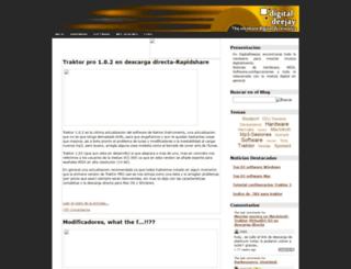 digitaldeejay.blogspot.com screenshot