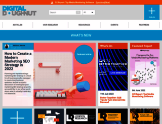 digitaldoughnut.report screenshot