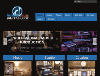digitaldustmusic.com screenshot