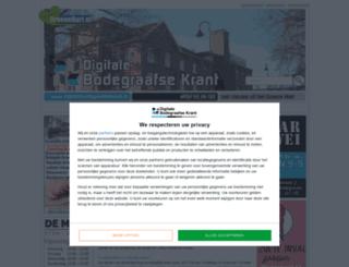 digitalebodegraafsekrant.nl screenshot
