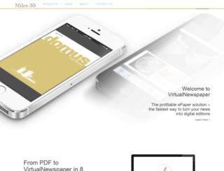 digitaledition.corrieredicomo.it screenshot