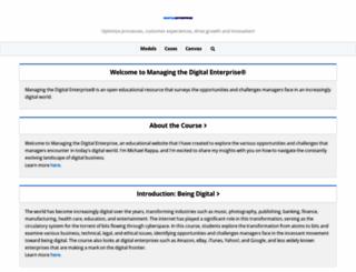 digitalenterprise.org screenshot