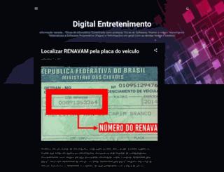 digitalentretenimento.blogspot.com screenshot