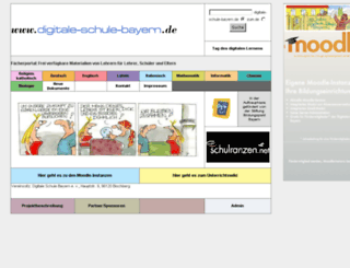 digitaleschulebayern.de screenshot