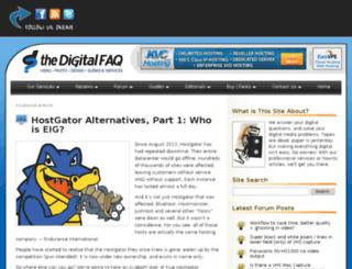 digitalfaq.net screenshot