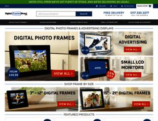 digitalframesdirect.co.uk screenshot
