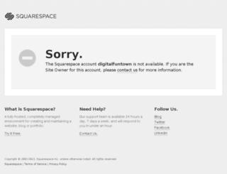 digitalfuntown.squarespace.com screenshot