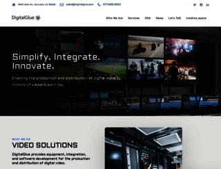 digitalglue.com screenshot