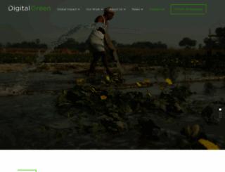 digitalgreen.org screenshot