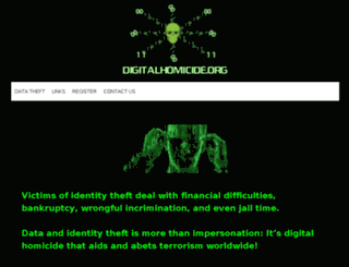 digitalhomicide.org screenshot