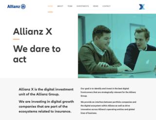 digitallabs.allianz.com screenshot