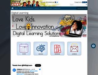digitallearning.esc4.net screenshot