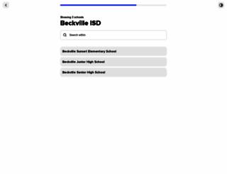 digitallibrary.beckvilleisd.net screenshot