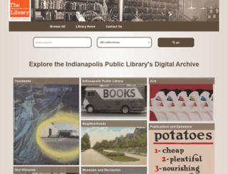 digitallibrary.imcpl.org screenshot