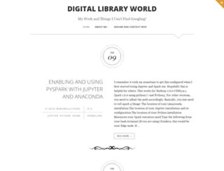 digitallibraryworld.com screenshot