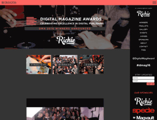 digitalmagazineawards.com screenshot