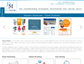 digitalmailer.co.in screenshot