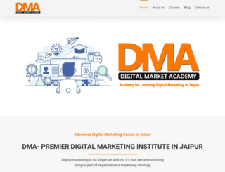 digitalmarketacademy.com screenshot