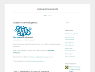 digitalmarketingexpertz.wordpress.com screenshot