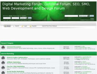 digitalmarketingforum.createaforum.com screenshot
