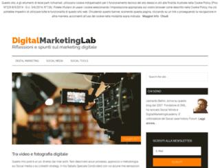 digitalmarketinglab.it screenshot