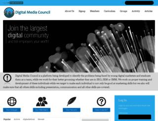 digitalmediacouncil.com screenshot