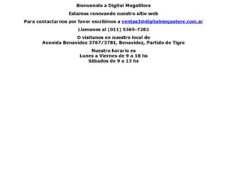 digitalmegastore.com.ar screenshot